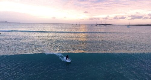 Planet Allsports Stand Up Paddle SUP Boavista Sunset